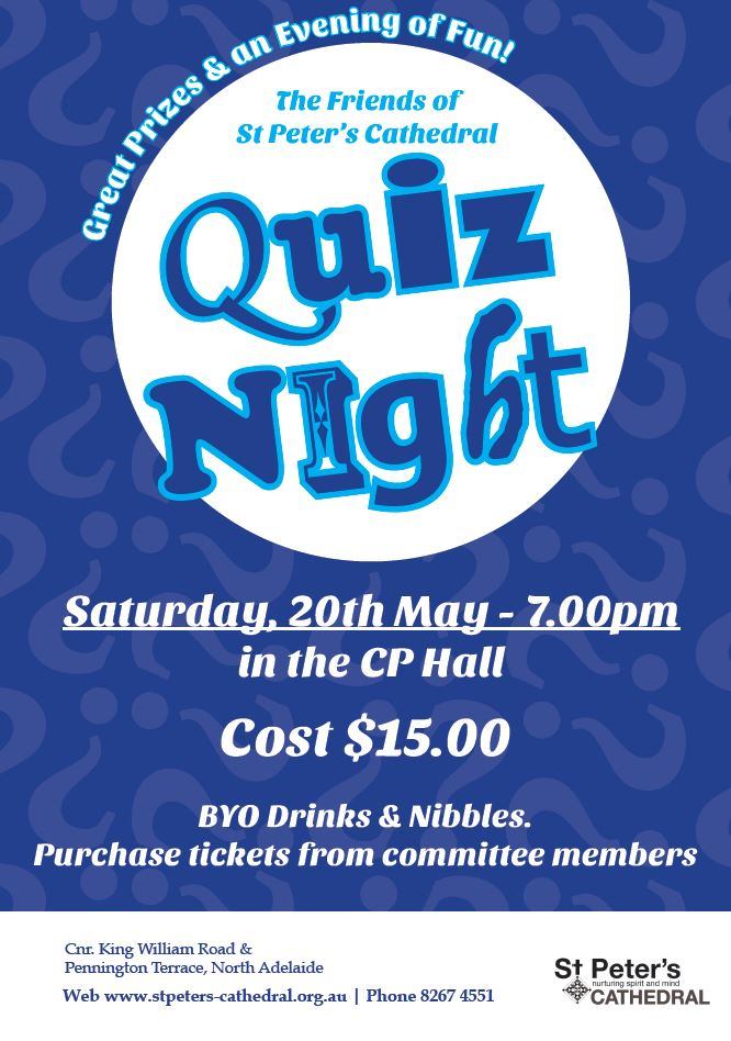 Friends Quiz Poster