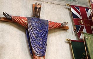 Jesus on cross St Peters