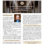 Cathedral Notes - October-November 2016