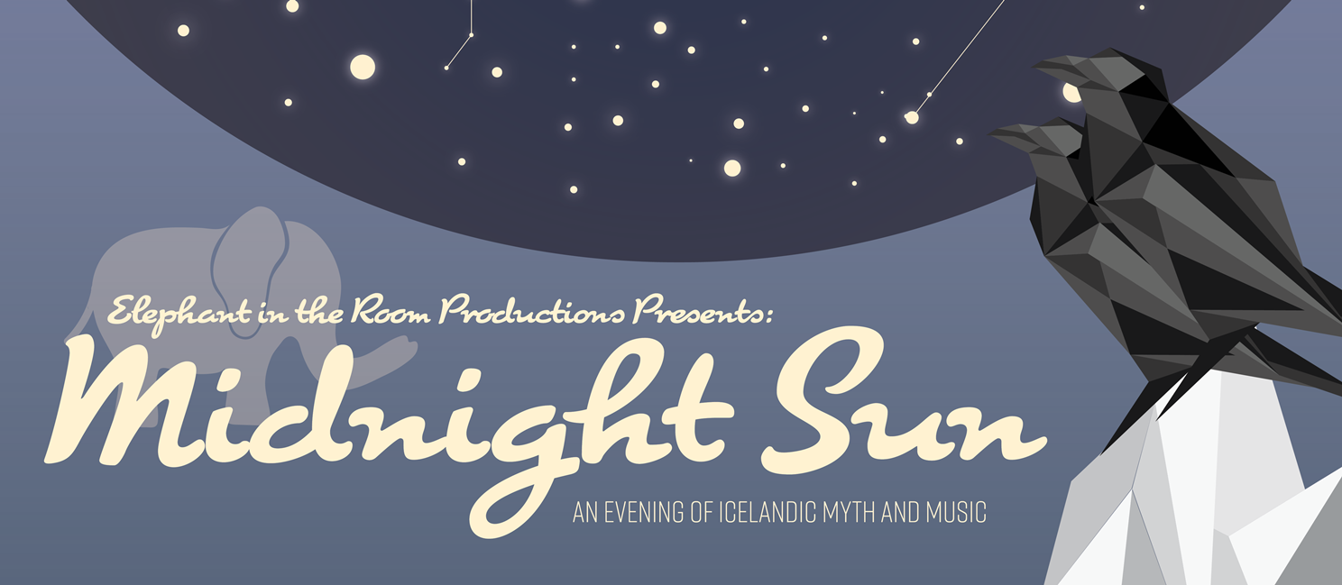 Midnight Sun A2 Poster - Outlined - WEB