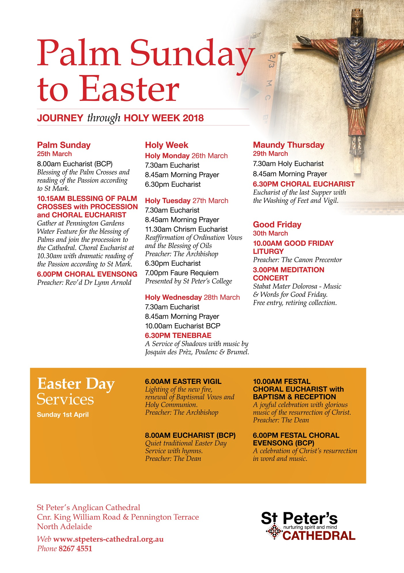 Palm Sunday to Easter 2018 - Web