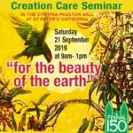 Creation Care Seminar: Imagining the Future, Festival 150